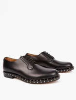 Valentino Black Studded Derby Shoes