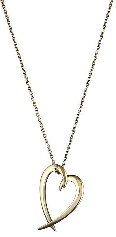 Shaun Leane Heart silver yellow-gold vermeil pendant, silver