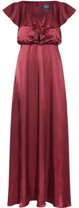 Adrianna Papell Hammered Satin Dress