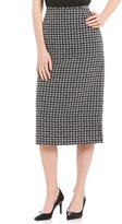 Preston & York Taylor Houndstooth Pencil Skirt