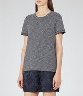 Reiss Maria Striped Jersey T-Shirt