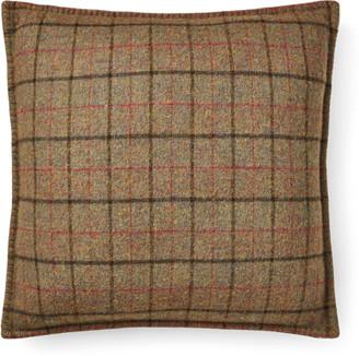 Ralph Lauren Grosvner Plaid Throw Pillow