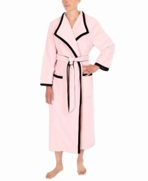 Sesoire Colorblocked Long Wrap Robe