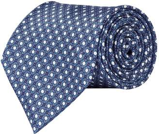Stefano Ricci Silk Geometric Micro Print Tie