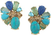 Carolee Stone Cluster Clip-On Earrings - 100% Exclusive