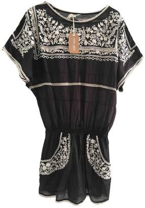 Yumi Star \N Black Cotton Dresses