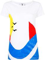 Rossignol colour block T-shirt - women - Cotton - M