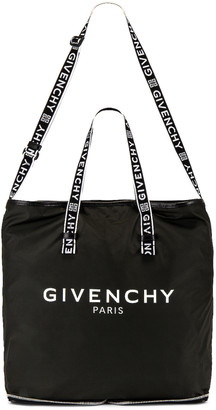 Givenchy Light 3 Foldable Tote in Black & White | FWRD