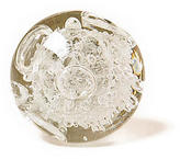 Anthropologie Glass Bubble Knob