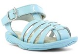 Umi Toddler Girl's 'Cady' Leather Fisherman Sandal