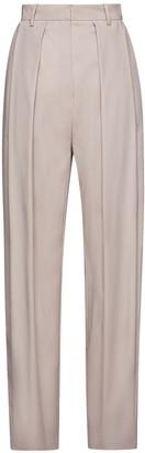 Magda Butrym Wool & Silk Straight Leg Pants