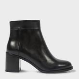 Paul Smith Women's Black Calf Leather 'Jade' Boots