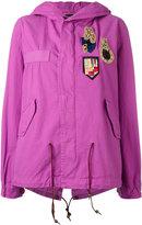 Mr & Mrs Italy - Bouganville parka - women - Cotton/Polyester/Wool/glass - XXS