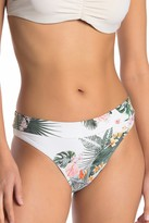 Rip Curl Morning Sky Tropical Print Cheeky Bikini Bottoms