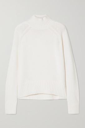 Allude Cashmere Turtleneck Sweater - Cream