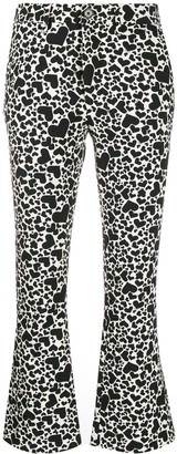 Zadig & Voltaire Zadig&Voltaire Heart print cropped trousers
