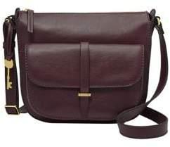 Fossil Ryder Leather Crossbody Bag