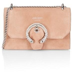Jimmy Choo Paris Embellished Leather Mini Bag