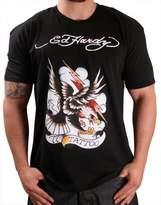 Ed Hardy Mens 77 Eagle Tattoo Graphic Tee Shirt