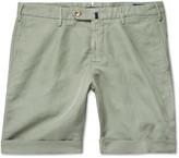 Incotex - Slim-fit Linen And Cotton-blend Shorts