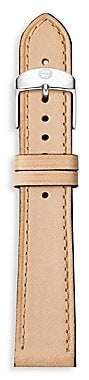 Michele Women's Thin Leather Watch Strap/16MM