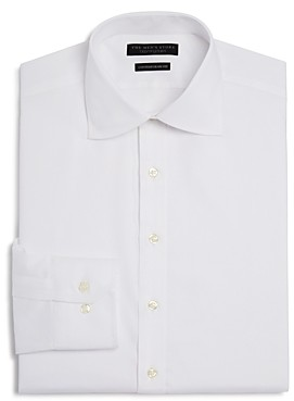 The Men's Store at Bloomingdale's Twill Solid Regular Fit Basic Dress Shirt - 100% Exclusive