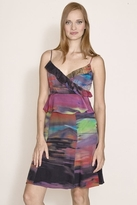 Plenty Frock by Tracy Reese Evie Silk Dress in Watercolor