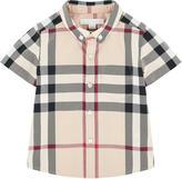Burberry Check print shirt