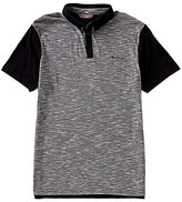 Ben Sherman Short-Sleeve Pique Pannel Polo