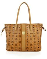 MCM Liz Medium Reversible Visetos Shopper Tote