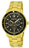 Nautec No Limit men's Quartz Watch Analogue Display and Stainless Steel Strap GLAC-QZ-GDGD-BK
