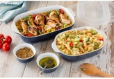 Corningware Midnight 6-Pc. Bakeware Set