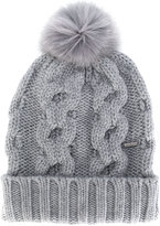 Woolrich pom pom knitted hat