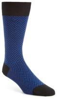 Pantherella Men's Hatton Chunky Herringbone Socks