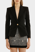 Balmain One Button Blazer
