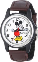 Disney Men's MCK617 Nylon Analog Quartz Watch