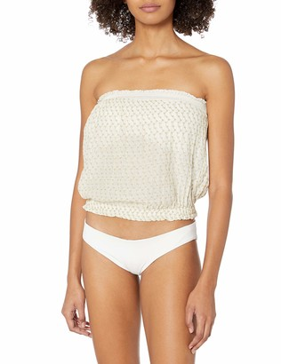 Ramy Brook Women's ATLIS Embroidered Tube TOP