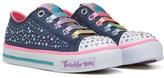 Skechers Kids' Twinkle Toes Twirly Toes Sneaker Preschool