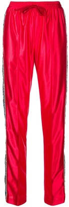 Gucci sequins embellished loose trousers