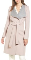 Ted Baker Women's Wool Blend Long Wrap Coat