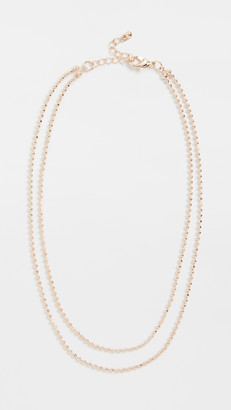 Theia Nicola Short Double Necklace