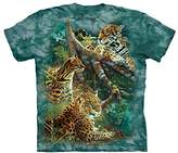 The Mountain Men's Three Jungle Cats T-Shirt Children's