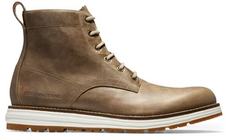 Cole Haan Original Grand Lace-Up Leather Boots