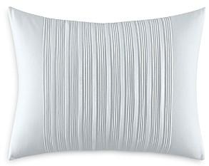 Vera Wang Linear Tucks Decorative Pillow, 12 x 16