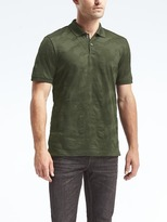 Banana Republic Luxury-Touch Camo Polo