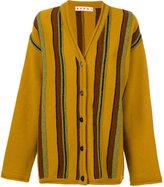 Marni oversized striped cardigan
