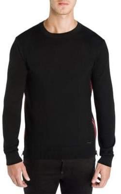 DSQUARED2 Side Zip Wool Sweatshirt