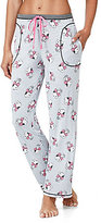 Peanuts Snoopy with Bow Striped Jersey Sleep Pants