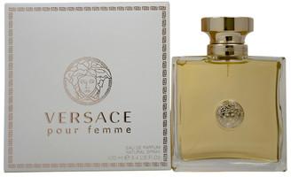 Versace Women's 3.4Oz Pour Femme Eau De Parfum Spray