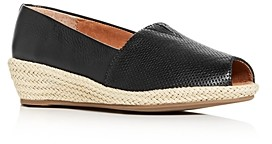 Gentle Souls by Kenneth Cole Women's Luci A-Line Low Wedge Espadrille Pumps
